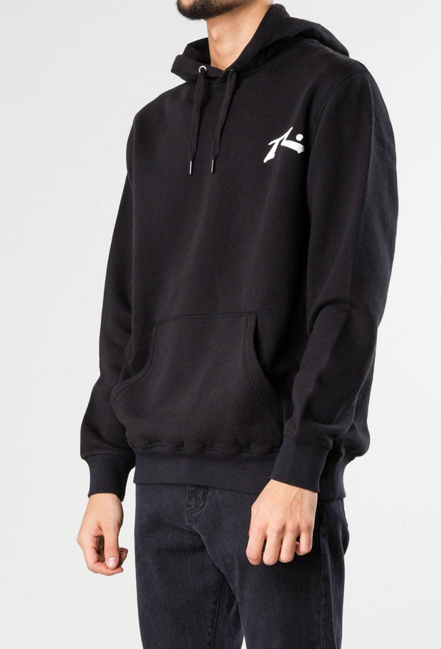 Competition hooded fleece - black-Clothing-Rusty Surfboards ME