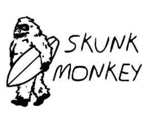 Skunk Monkey-Wake-Rusty Surfboards ME