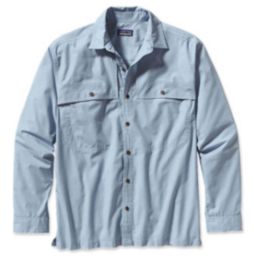 Patagonia Island Hopper II, Long Sleeve Color: Chambrey Leaden Blue