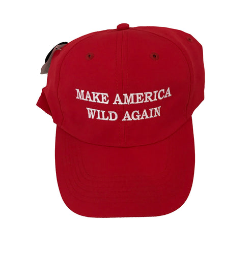 Cap - Make America Wild Again Red