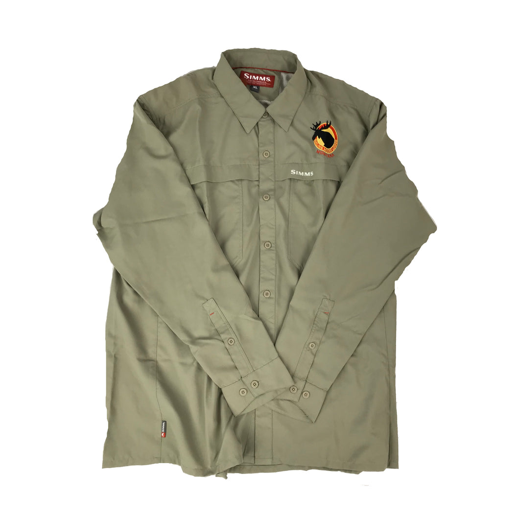 Simms Ebbtide Long Sleeved Shirt Sold Dark Khaki