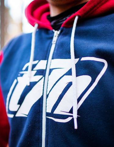 Der T7N Flash Zip-Hoodie Hoodie Thirty7even