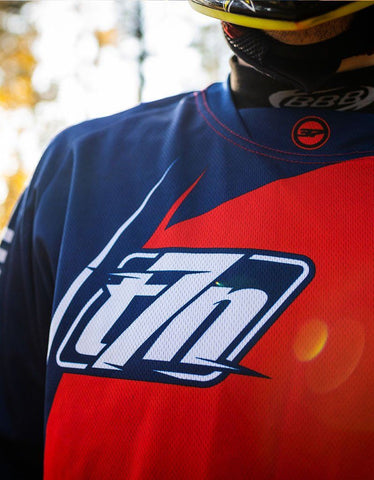 Image of Dein T7N Limited Flame Jersey