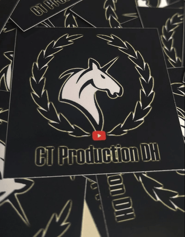 CT Productions DH Sticker Paket Deluxe Community Paket Thirty7even