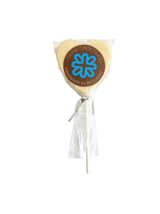 Solid Chocolate Heart Lollipops