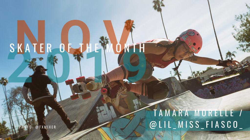 Skater of the Month Nov: Lil Miss Fiasco