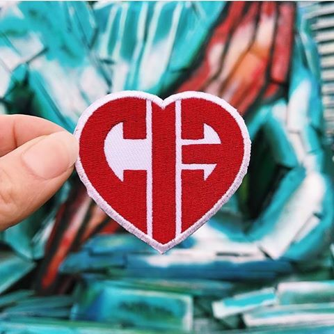 CIB Red Heart Patch