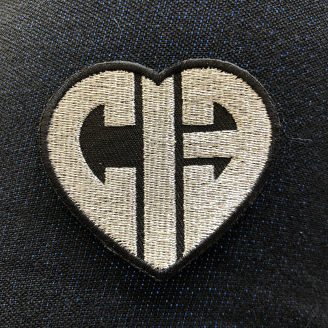 CIB Silver Heart Patch
