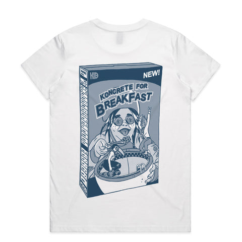 Kids in Bowls Cereal Tee