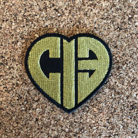 CIB Gold and Black heart patch