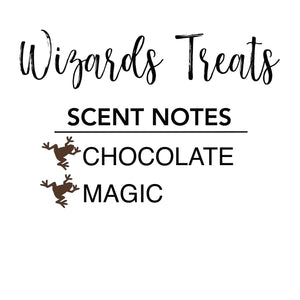 Wizards Treats Candle