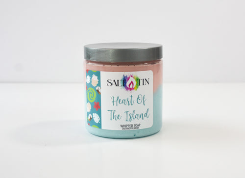 Heart Of The Island Whipped Soap