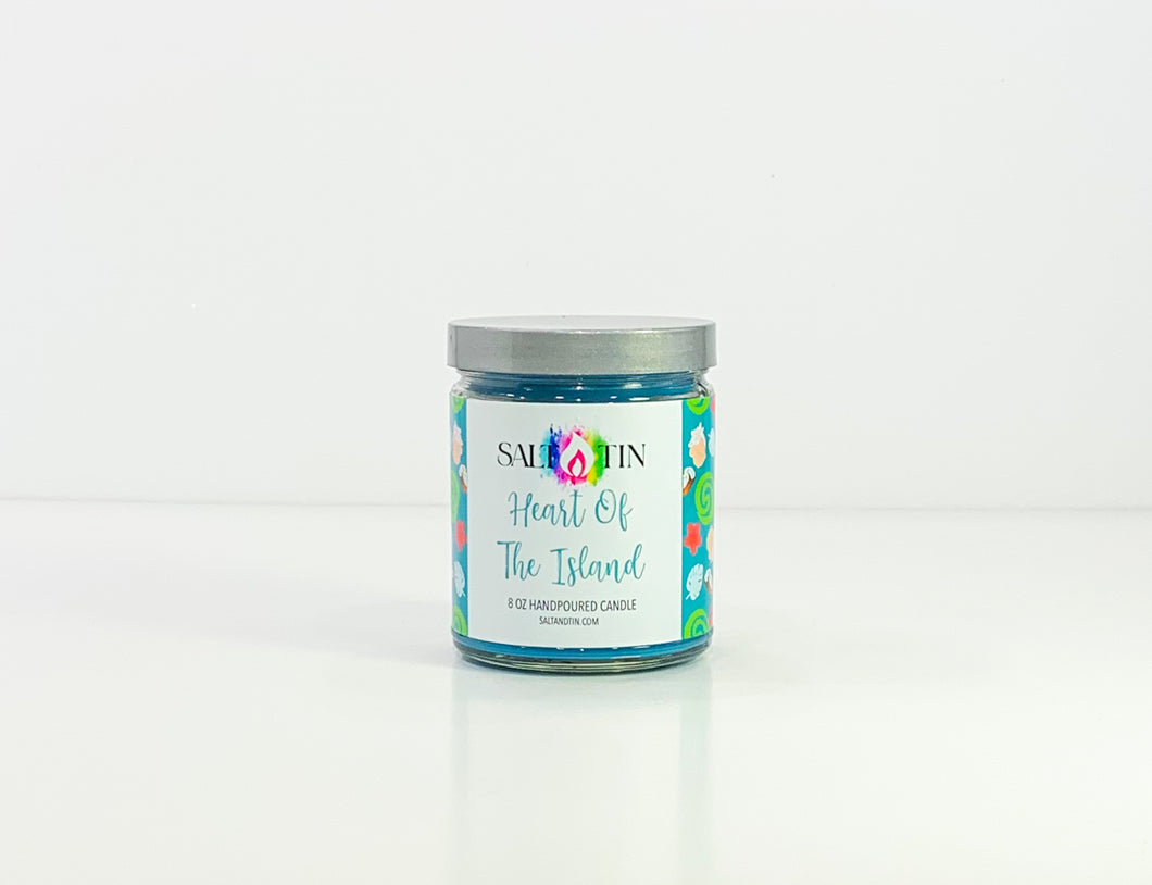 Heart Of the Island Candle