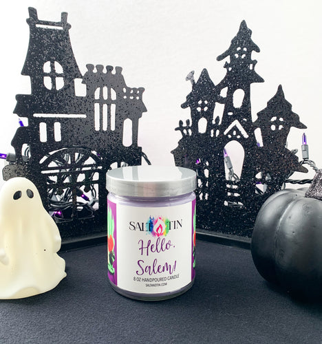 Hello, Salem! Candle