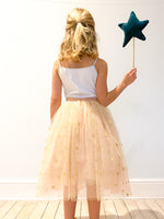 Load image into Gallery viewer, Tulle Star Skirt