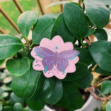 Load image into Gallery viewer, Butterfly Lupus Warrior Enamel Pin - Rina Bloom