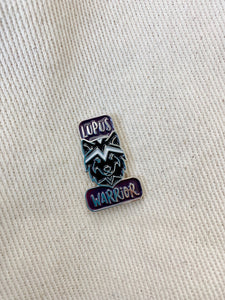 Wolfpack Lupus Warrior Enamel Pin - Rina Bloom