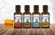 Kit tónicos para barba - Don Porfirio Moustache Wax