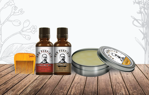 Kit para barba - Don Porfirio Moustache Wax