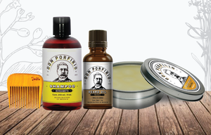 Kit cabellera & barba elegante - Don Porfirio Moustache Wax