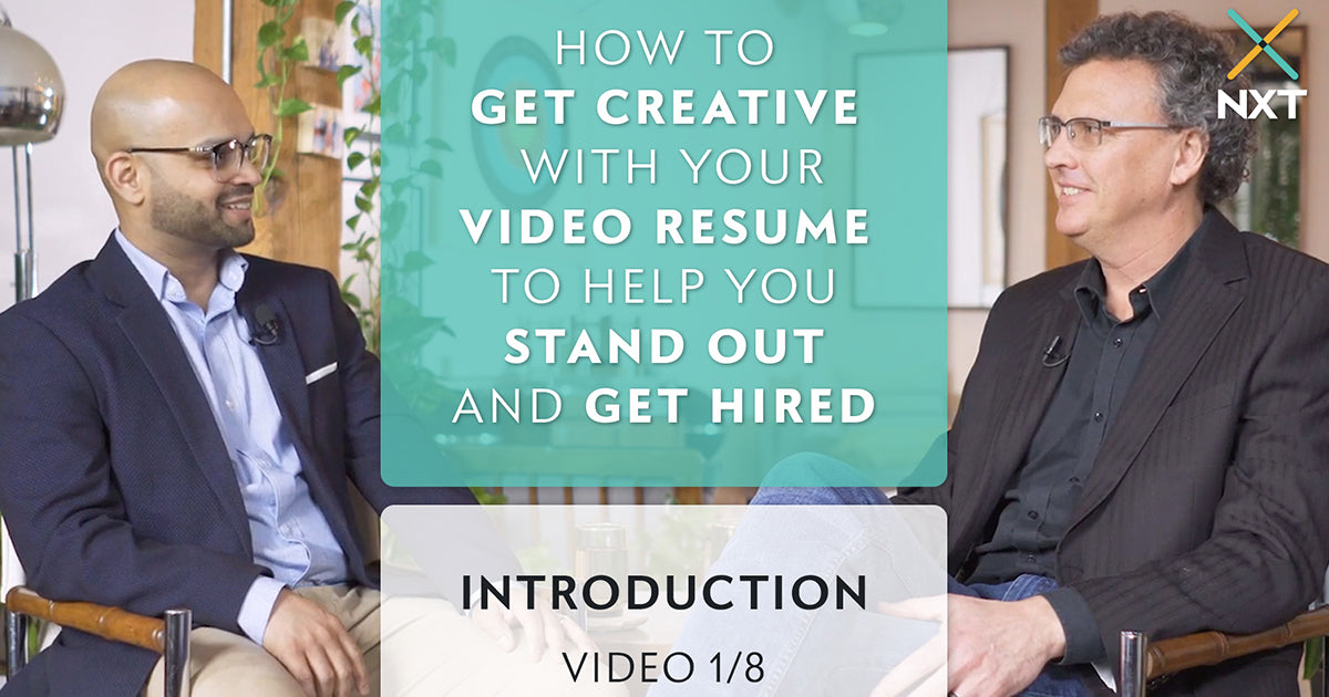 How to get creative with your video resume to help you stand out and get hired