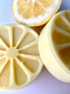 Tangerine lotion bar