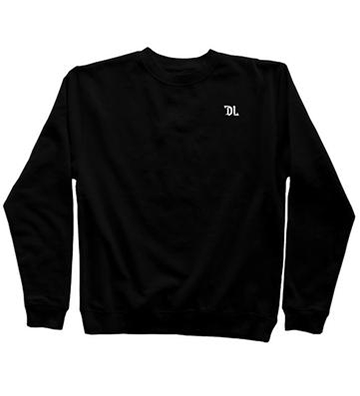 DL Patch Crewneck Sweatshirt