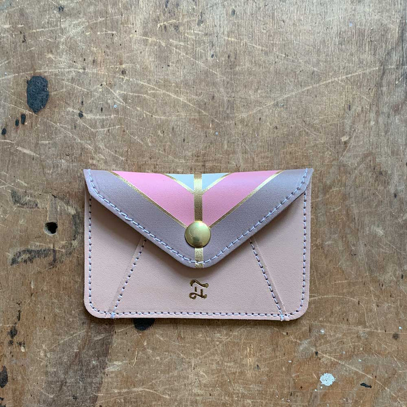 CARD WALLET SHADES OF NUDE