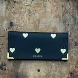GOLD HEARTS WALLET