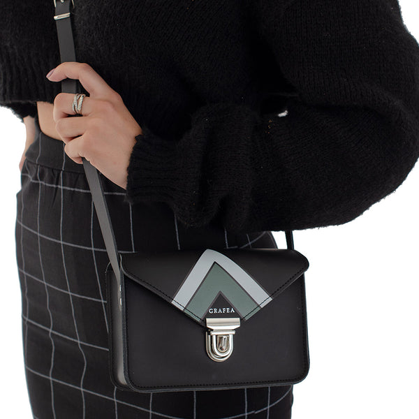 SMALL CROSSBODY GEOMETRIC
