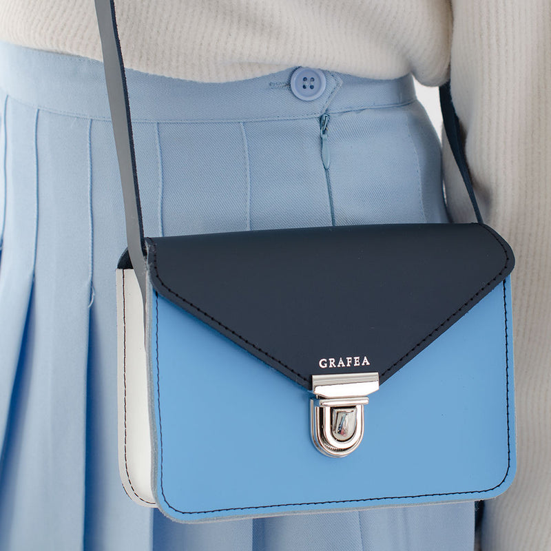 SMALL CROSSBODY TRIO BLUE