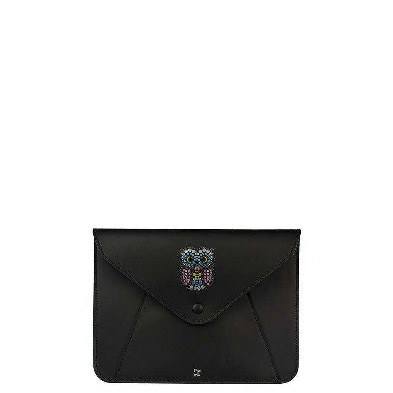 OWL LEATHER iPad CASE (4186301530215)