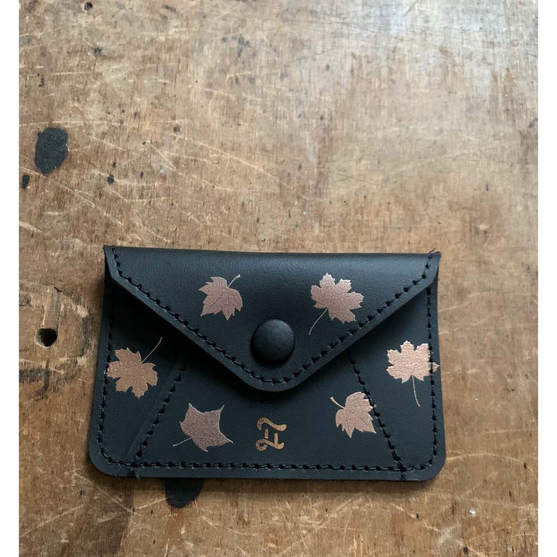 CARD WALLET AUTUMN LEAVES