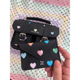 CARD WALLET PASTEL HEARTS