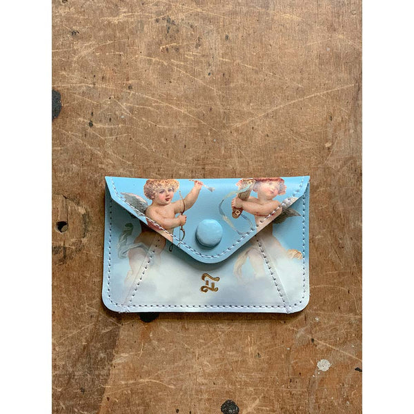 CARD WALLET SKY BLUE