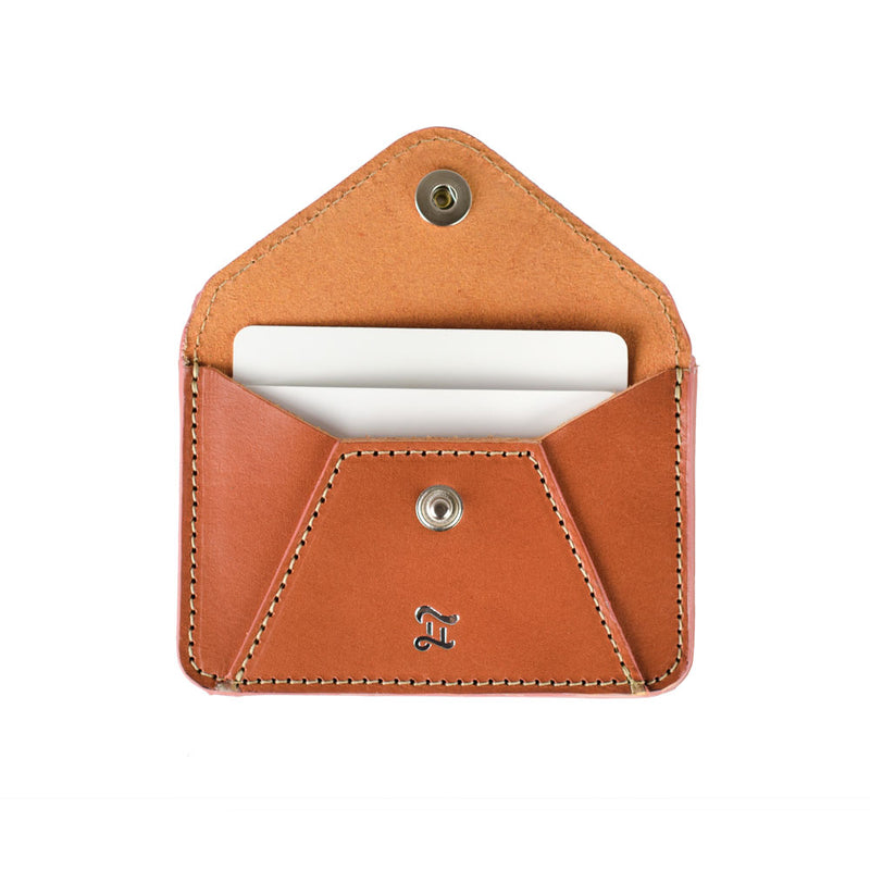 CARD WALLET CARAMEL