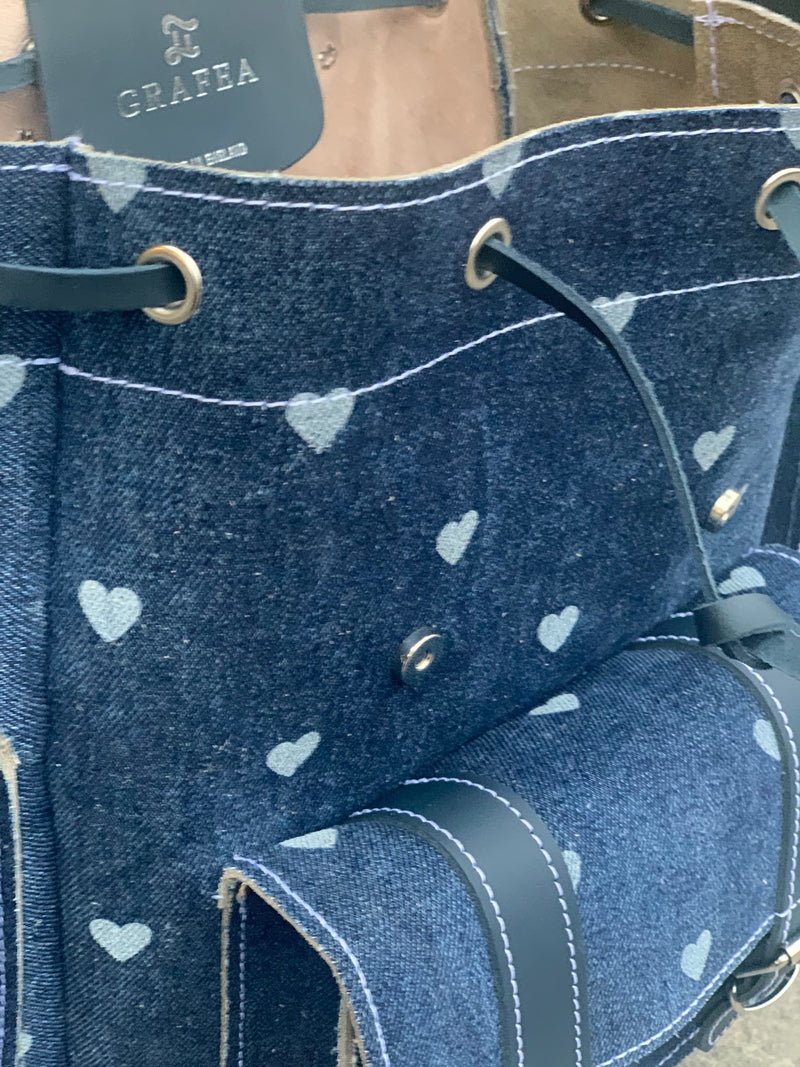 HARI II DENIM HEARTS