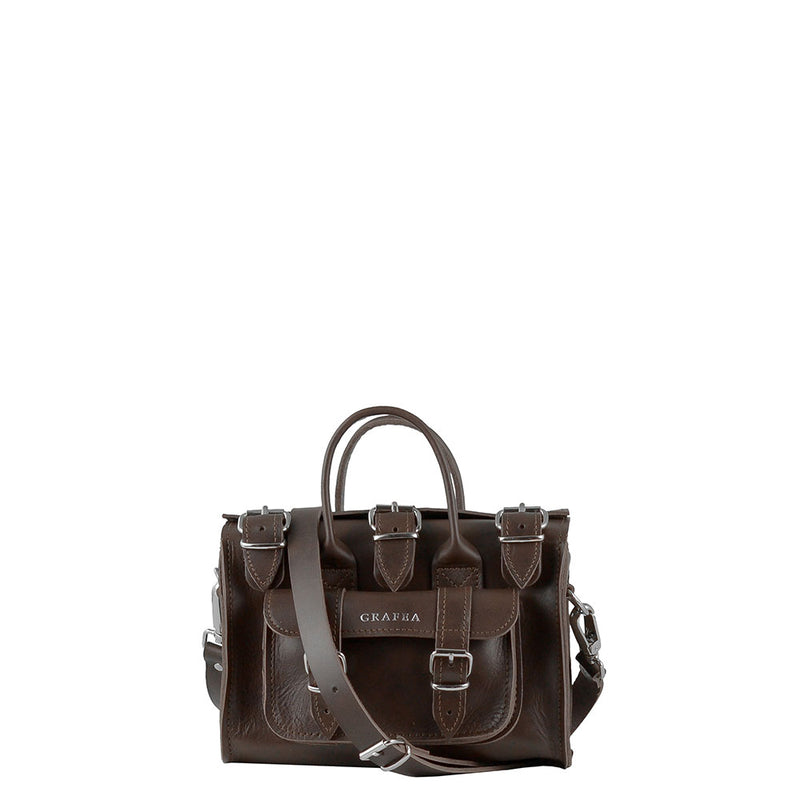 LUNA SMALL DARK BROWN