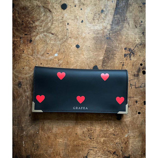 RED HEARTS WALLET