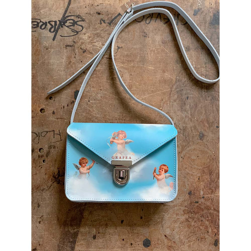 SMALL CROSSBODY SKY BLUE