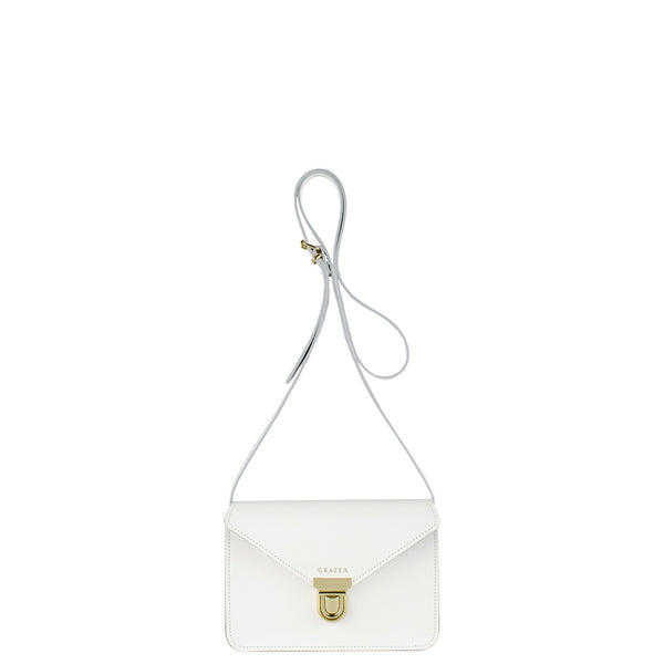 SMALL CROSSBODY WHITE