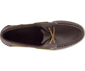 Sperry Men's Authentic Original Leather Boat Shoe Brown