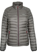 Load image into Gallery viewer, Gill Women's Hydrophobe Down Jacket Pewter