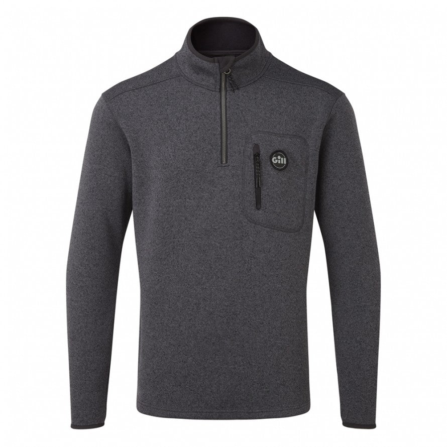 Gill Men's Knit Fleece 1/4 Zip Ash