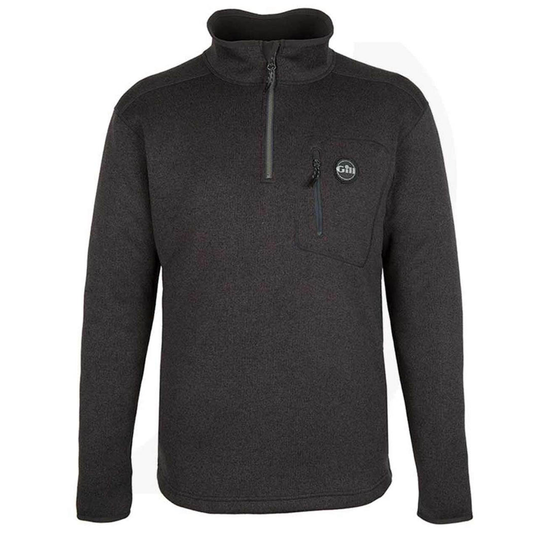 Gill Men's Knit Fleece 1/4 Zip Graphite