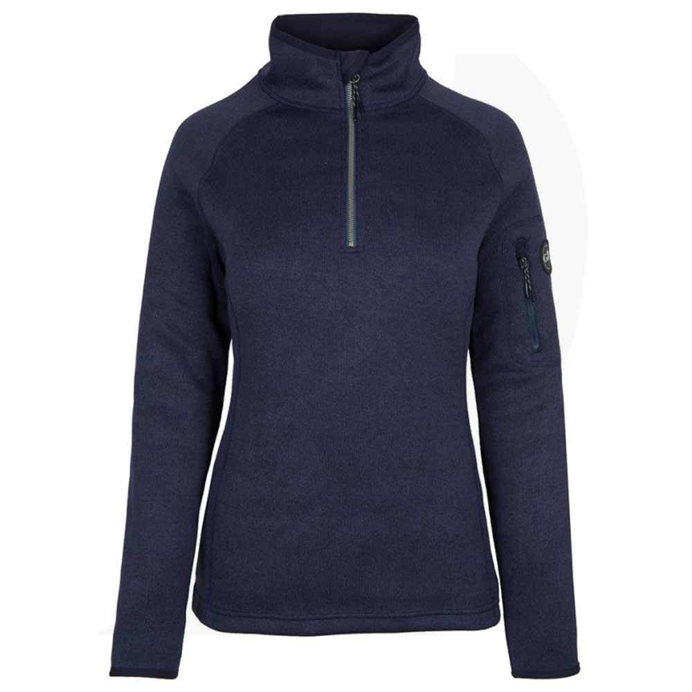 Gill Women's Knit Fleece 1/4 Zip Navy