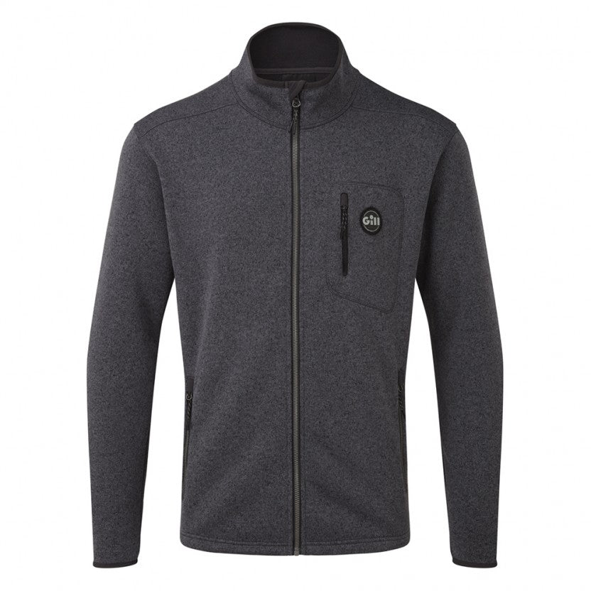 Gill Men's Knit Fleece Full Zip Ash