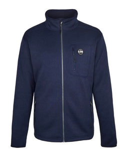 Gill Men's Knit Fleece Full Zip Navy