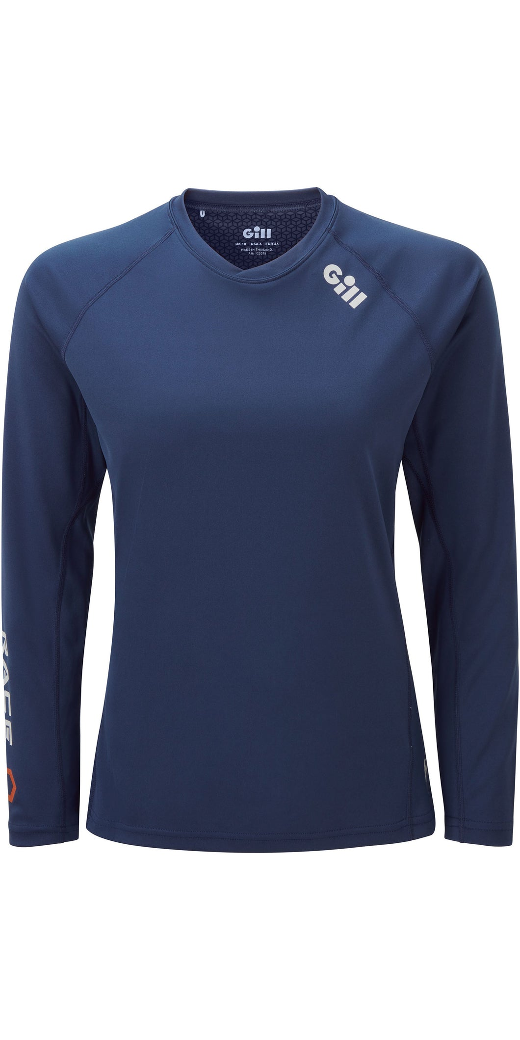 Gill Women's Race Long Sleeve Tee Dark Blue