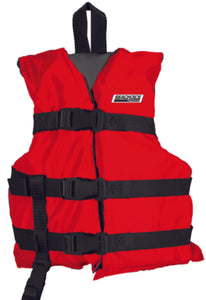 Freedom Boat Club Seachoice Child Type III General Purpose Vest Red